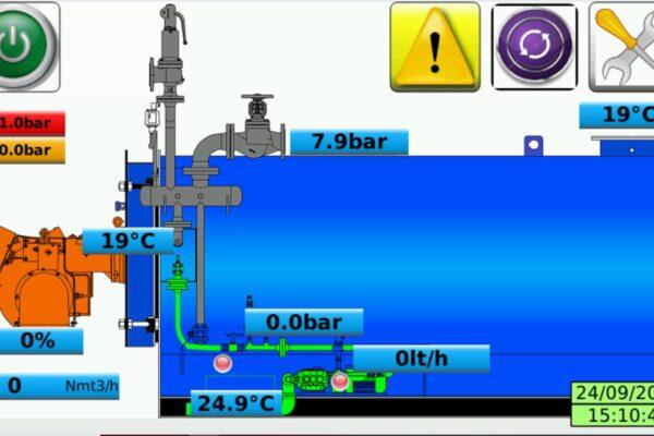 SAVEALL CST: Nuovo sistema di controllo remoto per generatori di vapore circolazione forzata e/o controllata – Industria 4.0